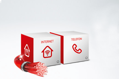 Red Internet & Phone Cable