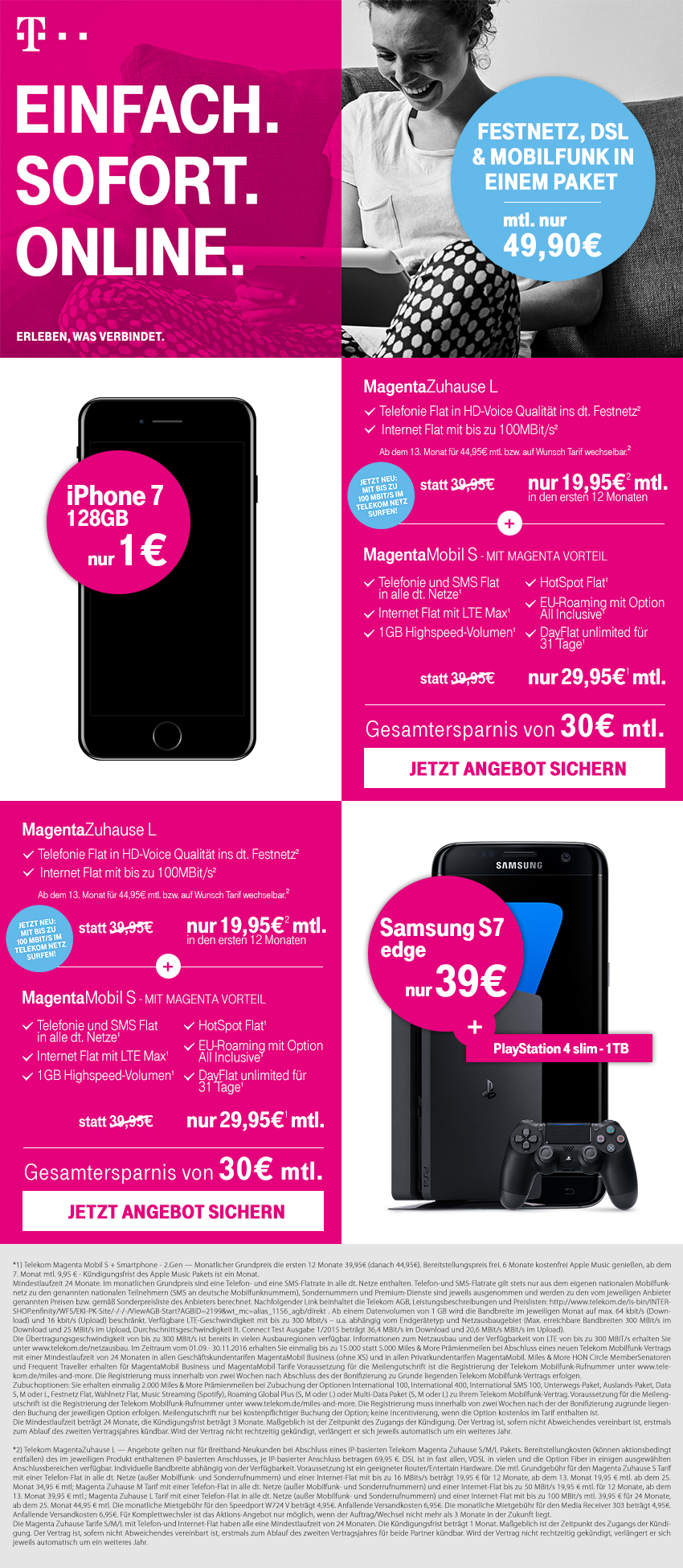 telekom magentazuhause l magentamobil s angebot. Black Bedroom Furniture Sets. Home Design Ideas