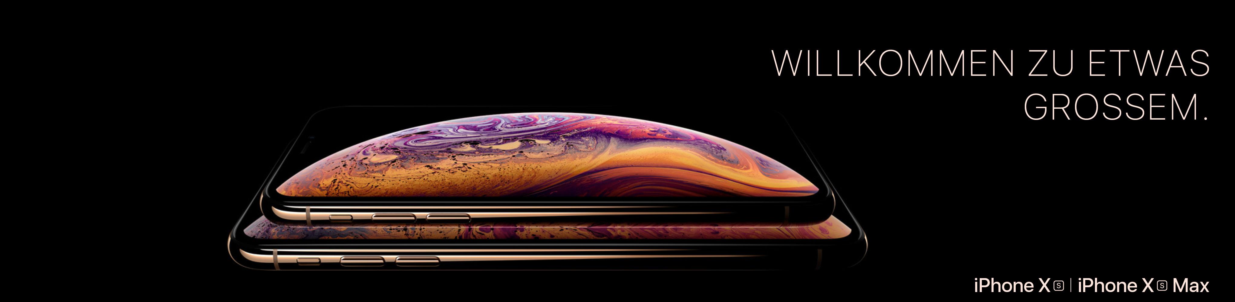 Das brandneue iPhone XS