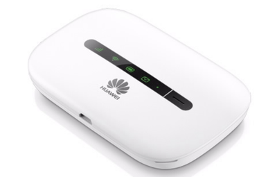 Huawei E5330/R207 3G MIFI Wifi Router 21Mbps weiß
