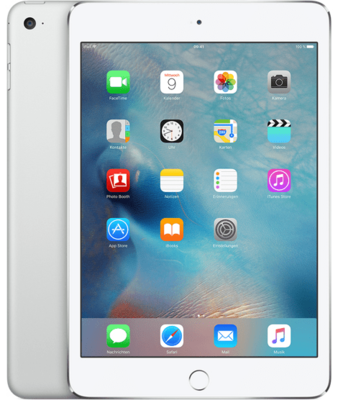 Apple iPad mini 4 Wi-Fi + Cellular 16GB Silber