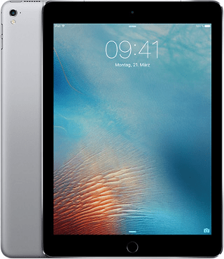 "Apple iPad Pro 9,7"" Wi-Fi + Cellular 128GB spacegrau"