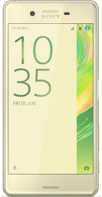 Sony Xperia X Performance lime-gold