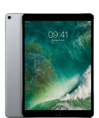 "Apple iPad Pro 12,9"" Wi-Fi + Cellular 64GB 2017 spacegrau"