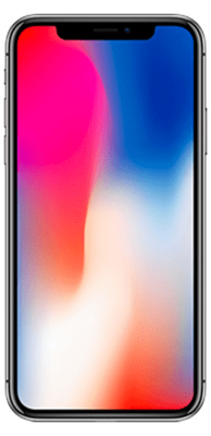 Apple iPhone X 256GB spacegrau