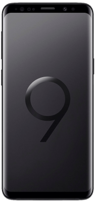 Samsung Galaxy S9 Dual SIM - Midnight Black