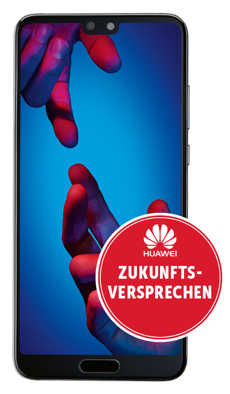 Huawei P20 Dual-Sim 128gb midnight blue
