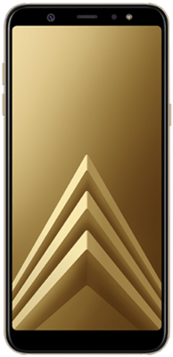 Samsung Galaxy A6 Plus (2018) gold
