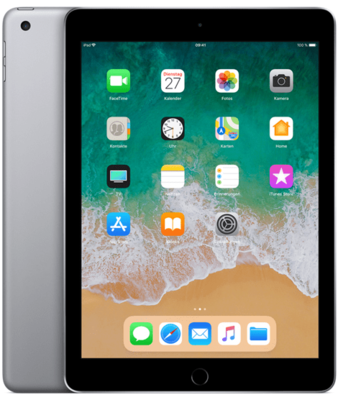 Apple iPad Wi-Fi + Cellular 128GB (2018) spacegrau