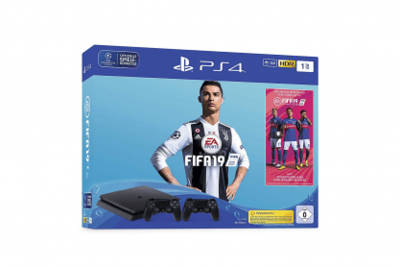 Sony PlayStation 4 + Fifa 19 + 14 Tage PS Plus