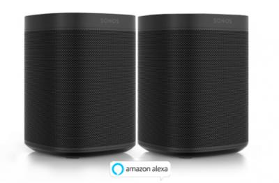Sonos 2x One (inkl. Alexa Sprachsteuerung)