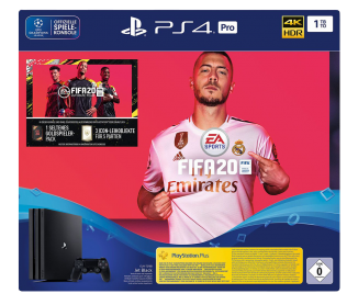 Sony PlayStation 4 pro + Fifa 20 + 14 Tage PS Plus