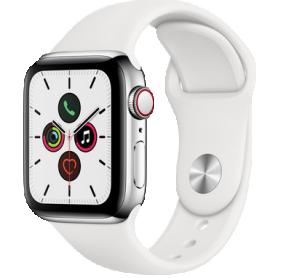 Apple Watch Series 5 40mm GPS+4G Edelstahl