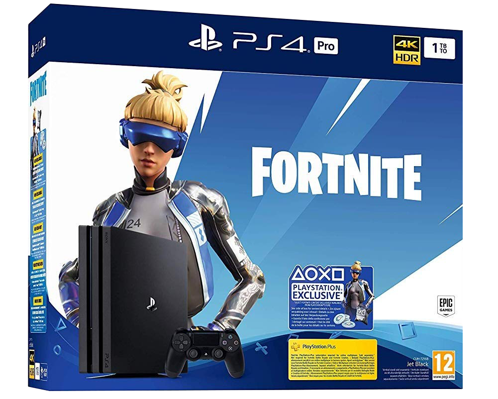 PS4 Pro + Fortnite Neo Versa